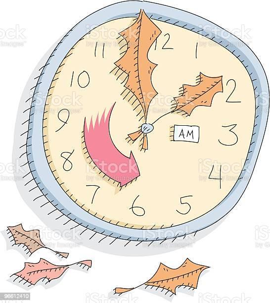 Daylight Savings Time Fall Back-vektorgrafik och fler bilder på Färgbild