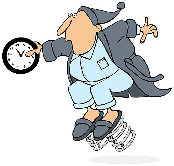 daylight savings time - spring forward stock illustrations, clip art, cartoons, & icons
