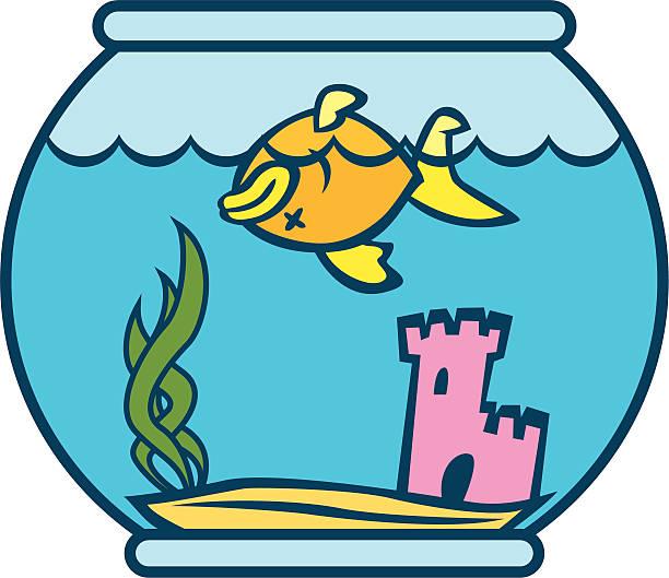 Dead Fish Vector Art Illustration