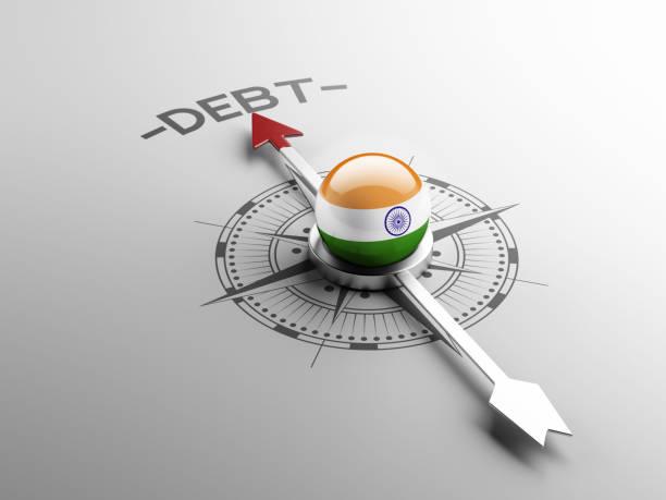 ilustraciones, imágenes clip art, dibujos animados e iconos de stock de concepto de deuda - bancarrota