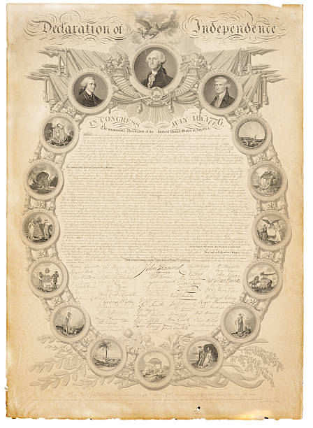 Best Declaration Of Independence Illustrations, Royalty ...