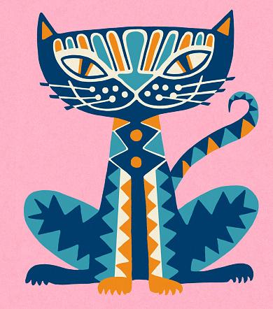 Decorated Cat