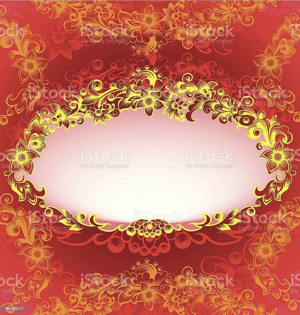 Decorative classic floral frame royalty-free decorative classic floral frame stock vector art & more images of abstract