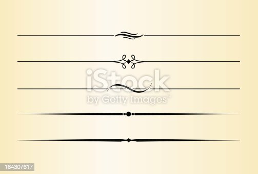 istock Decorative Dividers and Accents #7 164307617