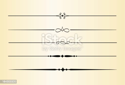 istock Decorative Dividers and Accents No. 4 164303320