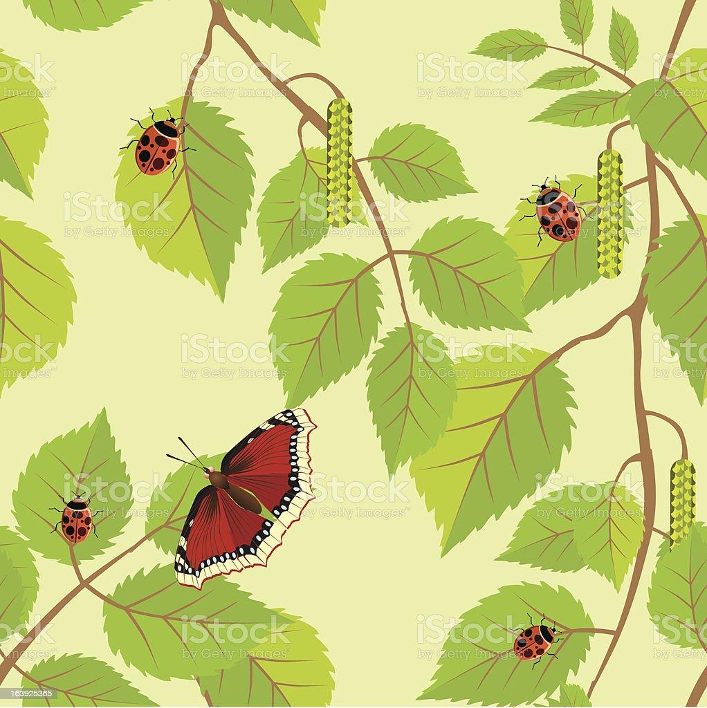 Decorative flower background. Vector illustration. royalty-free stock vector art