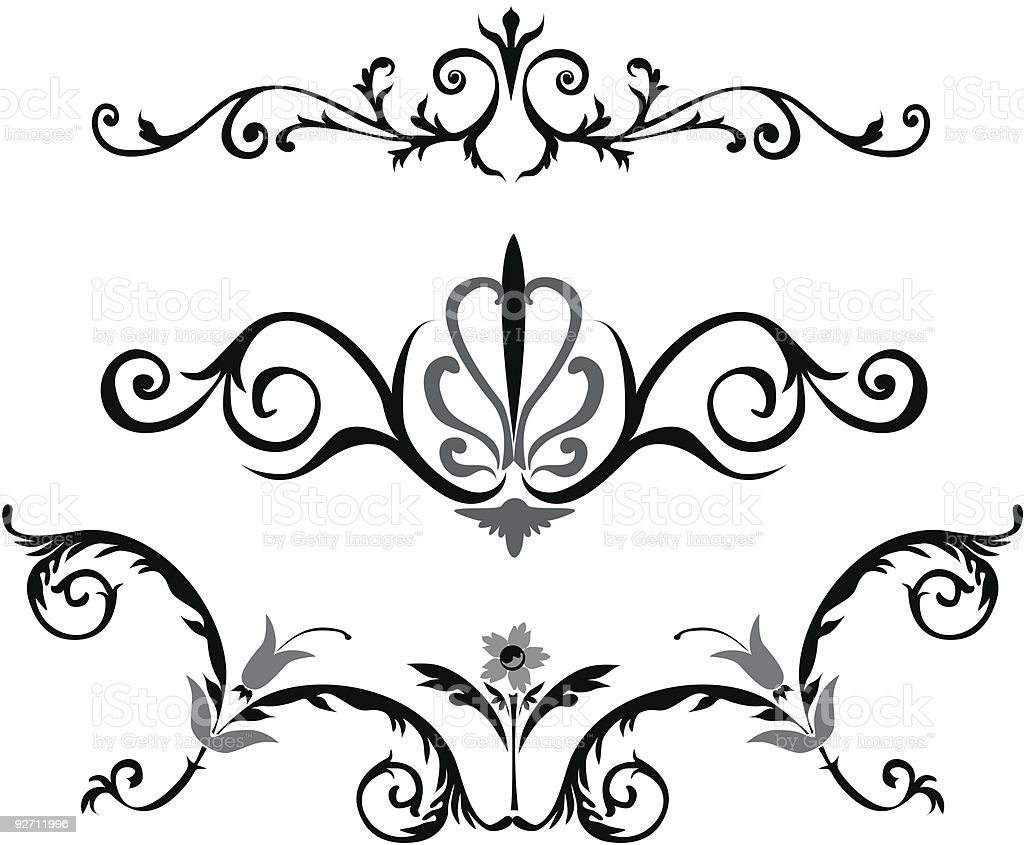 Decorative royalty-free stock vector art