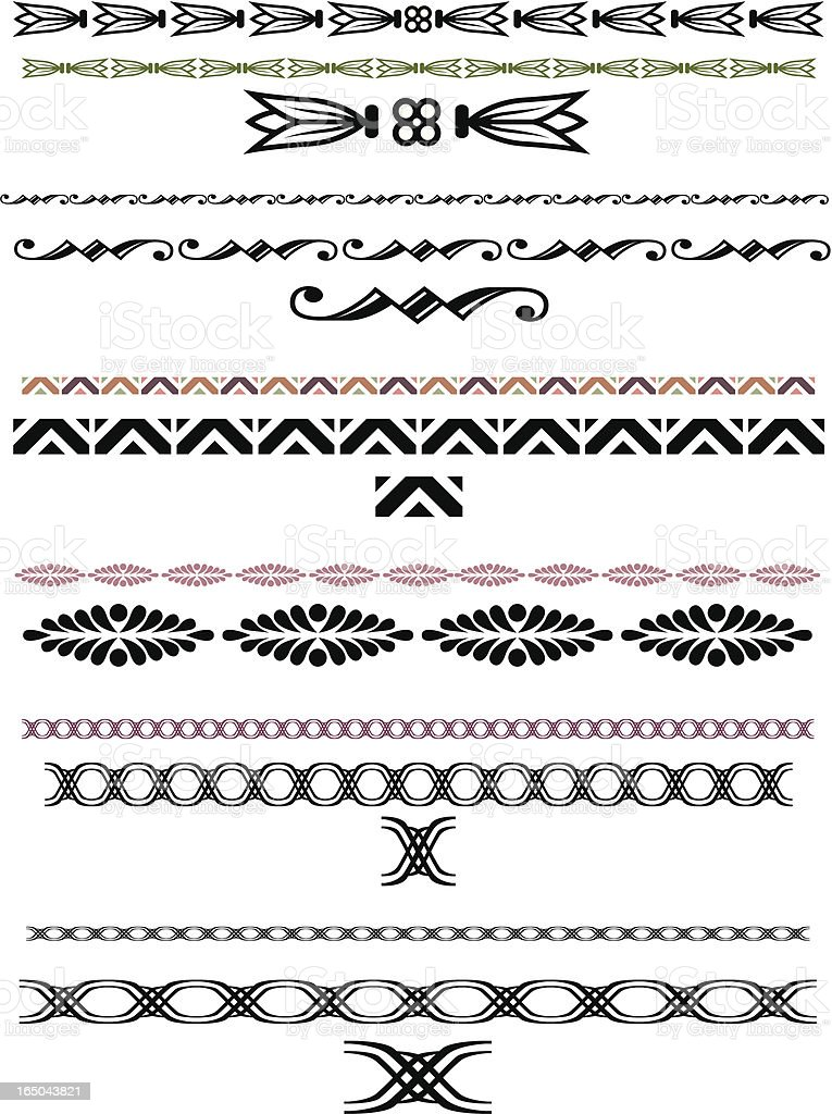 Decorative lines 3 royalty-free decorative lines 3 stock vector art & more images of art and craft