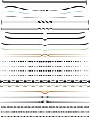 Decorative lines