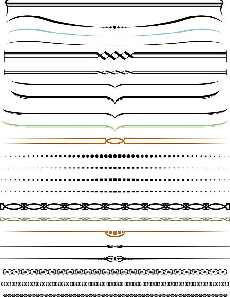 Royalty free decorative lines clip art vector images decorative lines vector art illustration thecheapjerseys Gallery