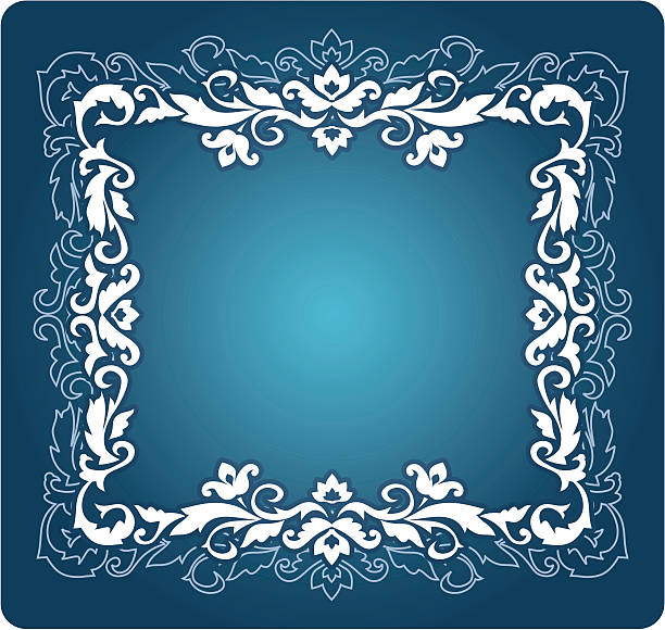Decorative ornament vector art illustration