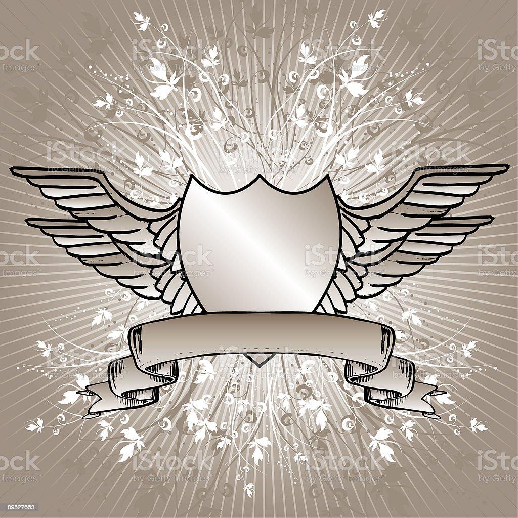Dekorative shield Lizenzfreies dekorative shield stock vektor art und mehr bilder von biegung
