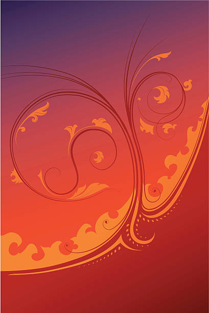 Decorative vector ornament vector art illustration