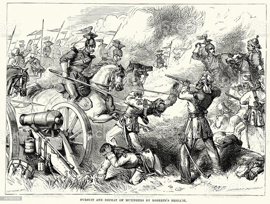 敗北の Mutineers バイロバーツのブリッジ - 1857年のインド大反乱の ...