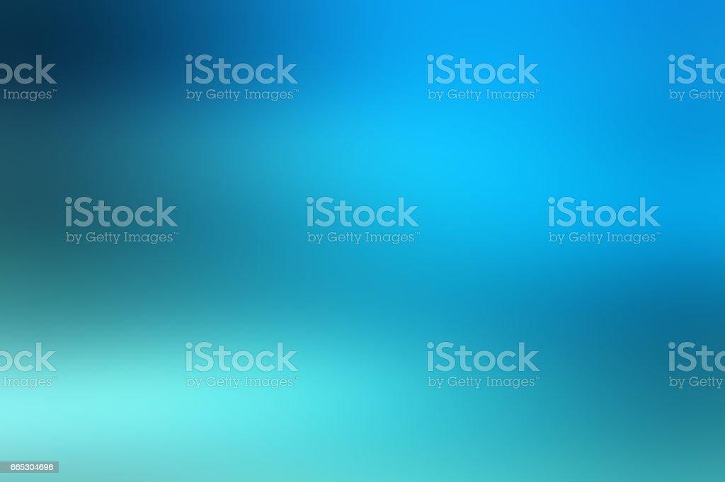 Defocused Blurred Motion Abstract Background Blue Green vector art illustration