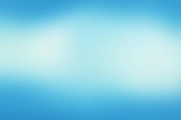Defocused turva movimento abstrato azul - ilustração de arte em vetor