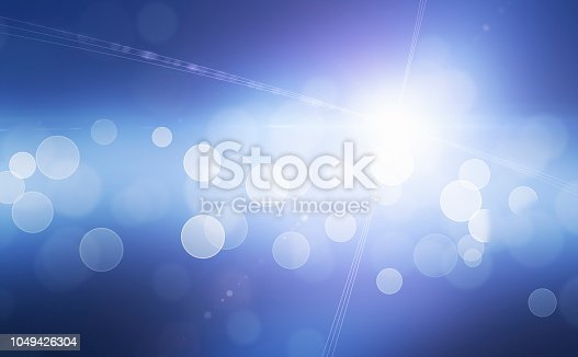 Gradient Defocused Background and Flash Light