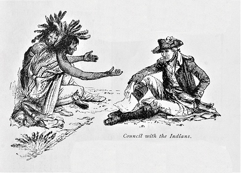 Delaware Tribe Negotiates Treaty with United States 1783