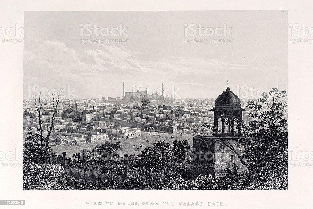 Delhi royalty-free delhi stock vector art & more images of 1850-1859