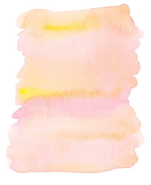 delicate pale color watercolor background my own artwork. peach blossom stock illustrations
