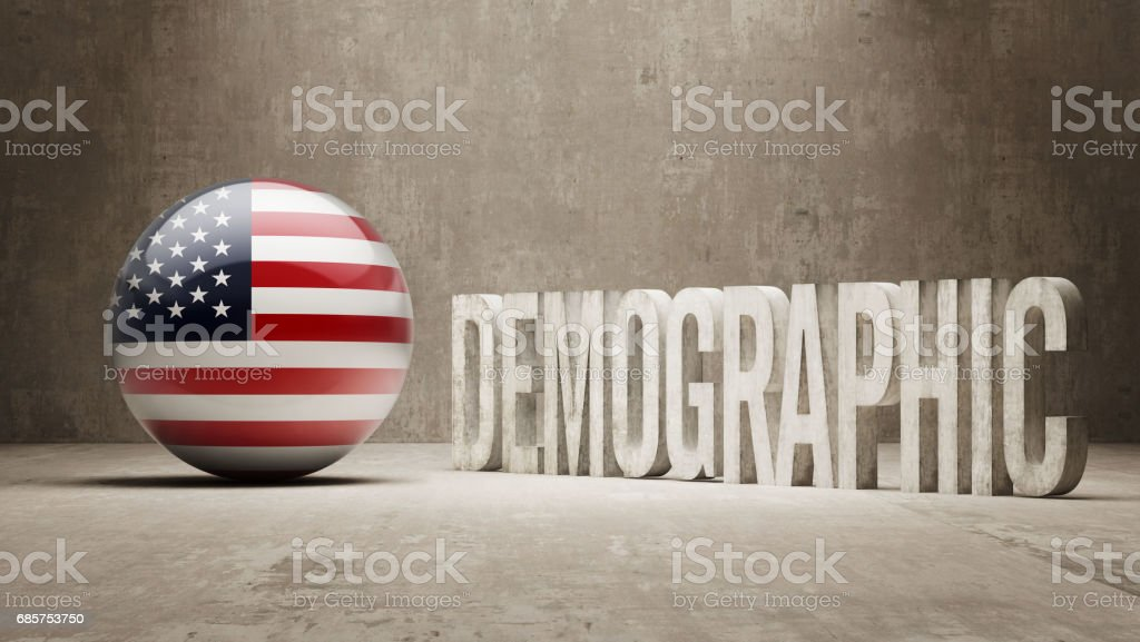 Concept démographique concept démographique – cliparts vectoriels et plus d'images de amérique du nord libre de droits