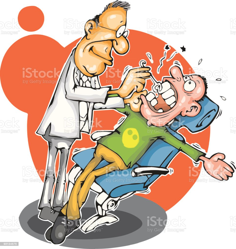 Dentist and patient royalty-free dentist and patient stock vector art & more images of cartoon