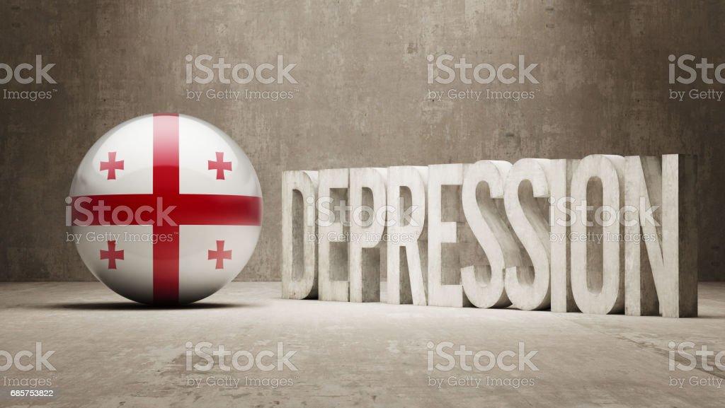 Depression Concept depression concept - stockowe grafiki wektorowe i więcej obrazów argentyna royalty-free