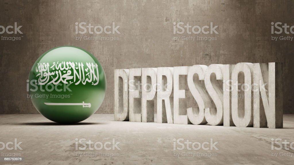 Depression-konceptet royaltyfri depressionkonceptet-vektorgrafik och fler bilder på arabien