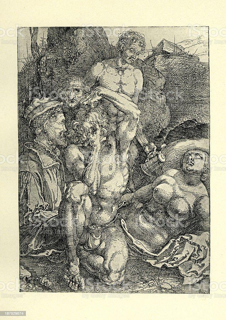 Der Verzweifelnde royalty-free der verzweifelnde stock vector art & more images of 16th century