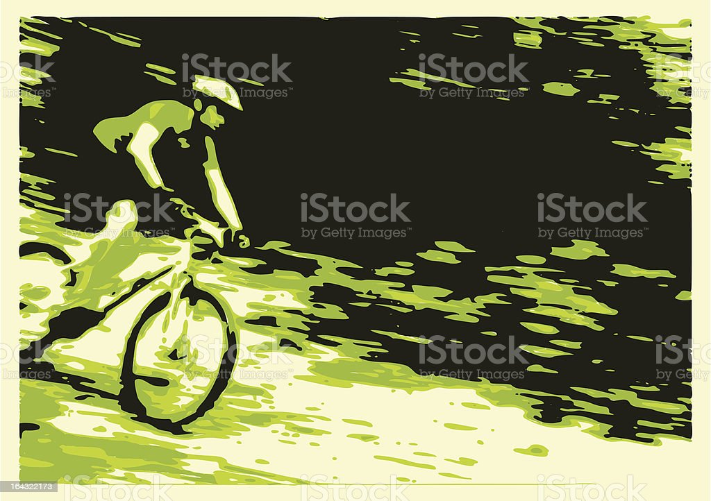 Descending royalty-free stock vector art