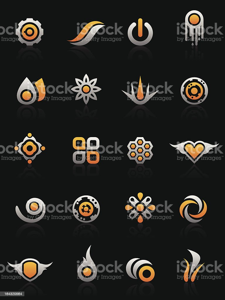 Design elements and graphics royalty-free stock vector art