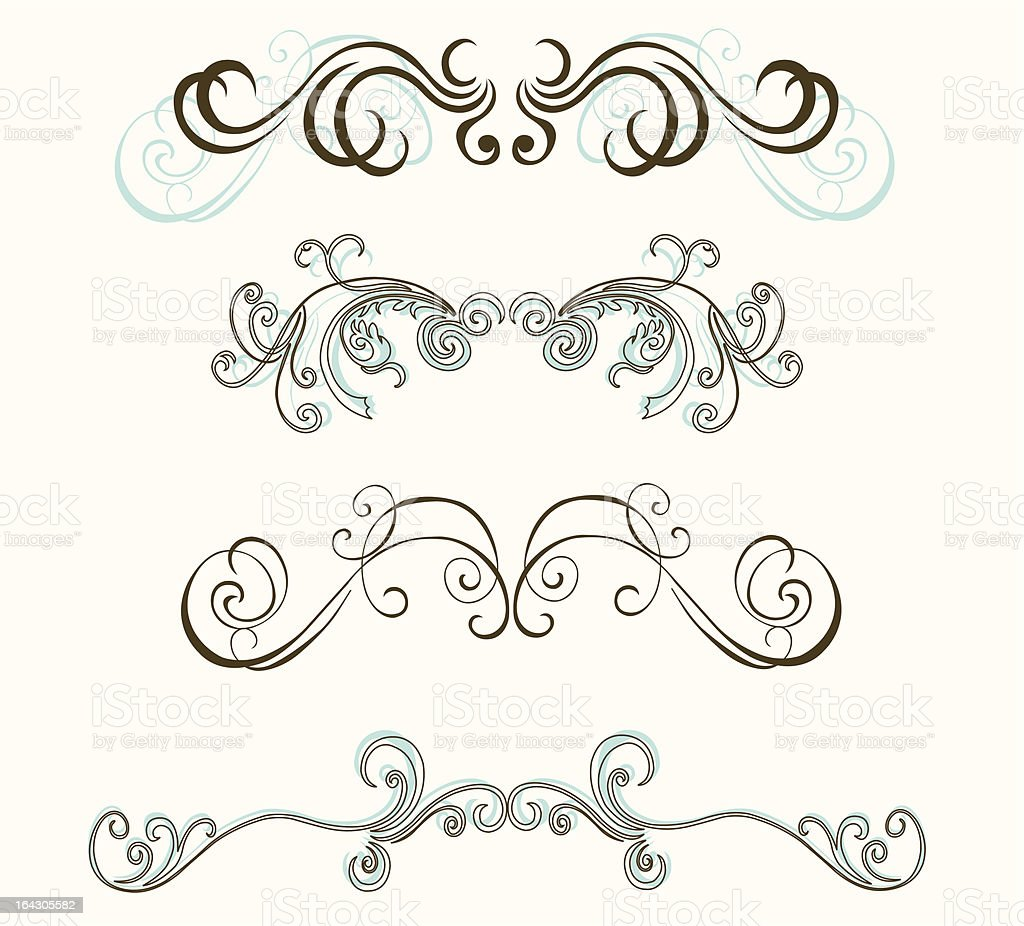 Design elements royalty-free stock vector art