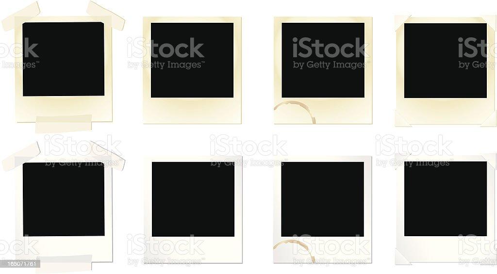 Design Elements: Photo Frame Set vector art illustration