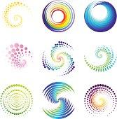 Design Elements   twirl & circle