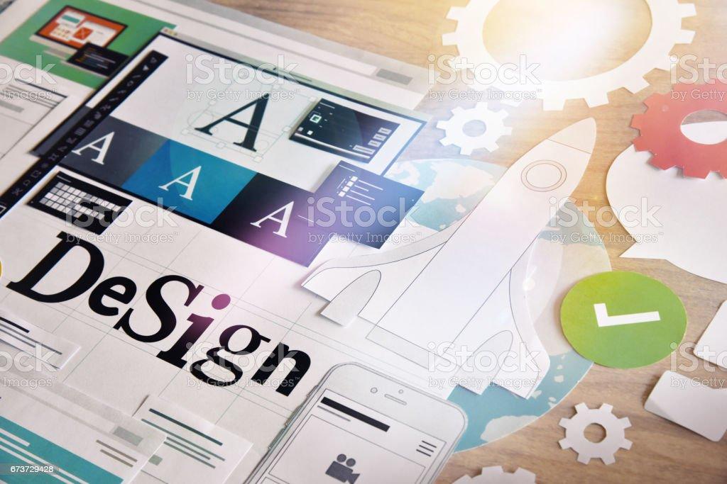 Services de conception services de conception – cliparts vectoriels et plus d'images de abstrait libre de droits