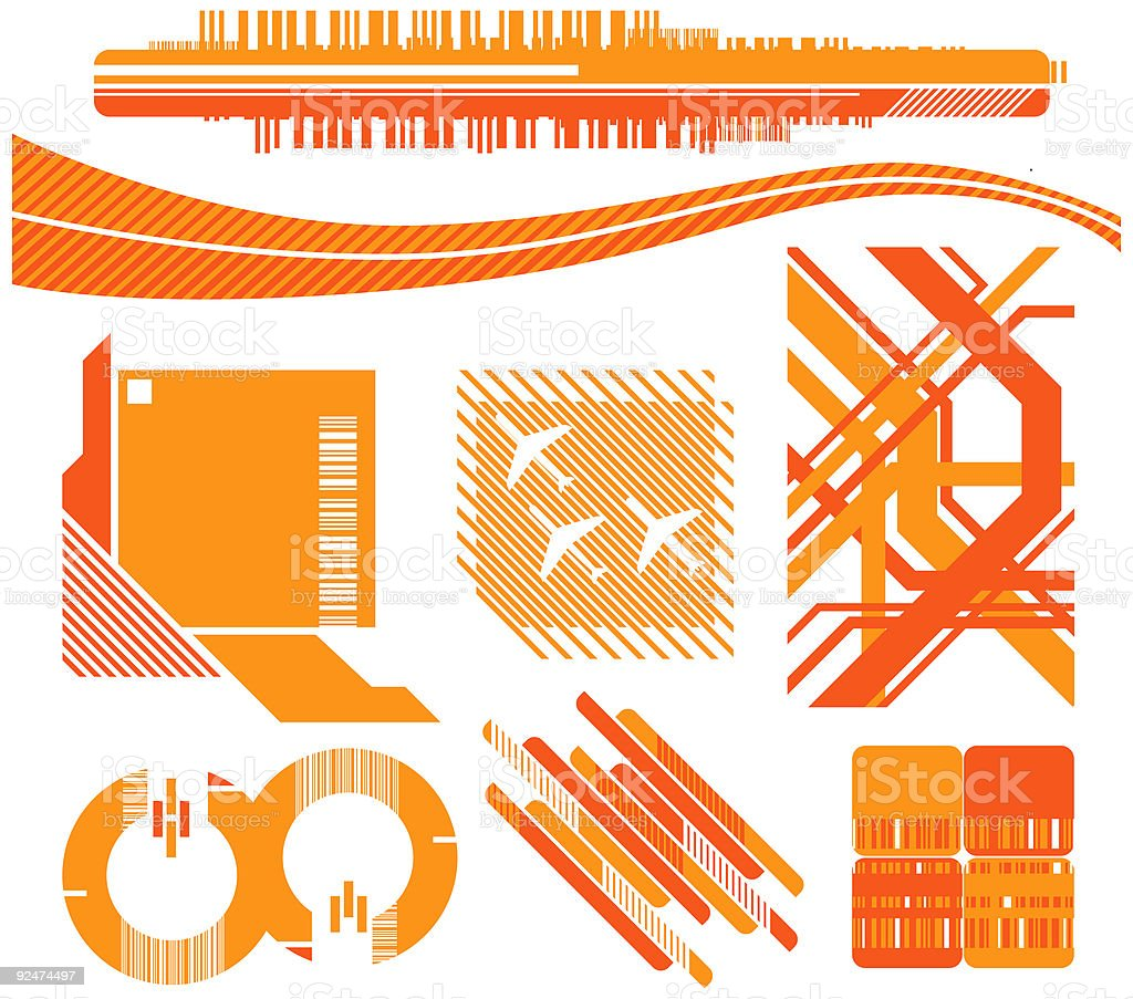 Design Toolbox 03 (Vector & JPG) royalty-free design toolbox 03 stock vector art & more images of airplane