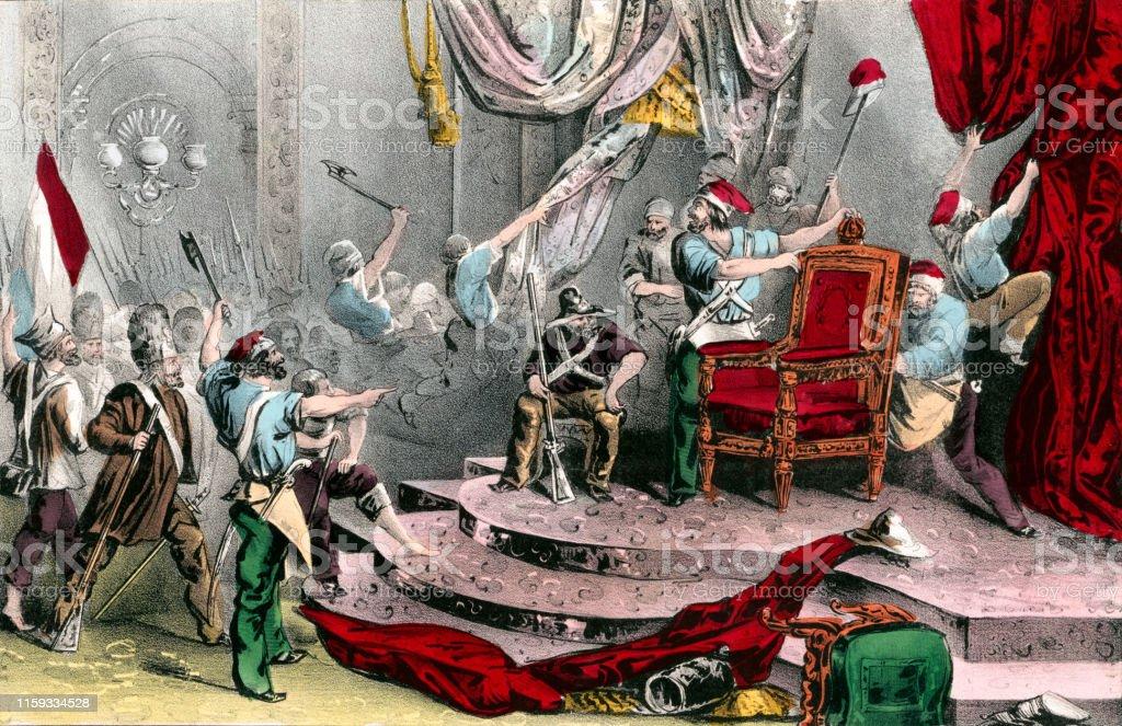 1848年のフランス革命中にチュイ...