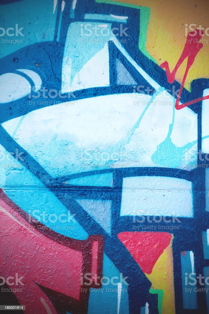 Detail of graffiti royalty-free stock vector art