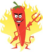 satan in the form off a spicy pepper!