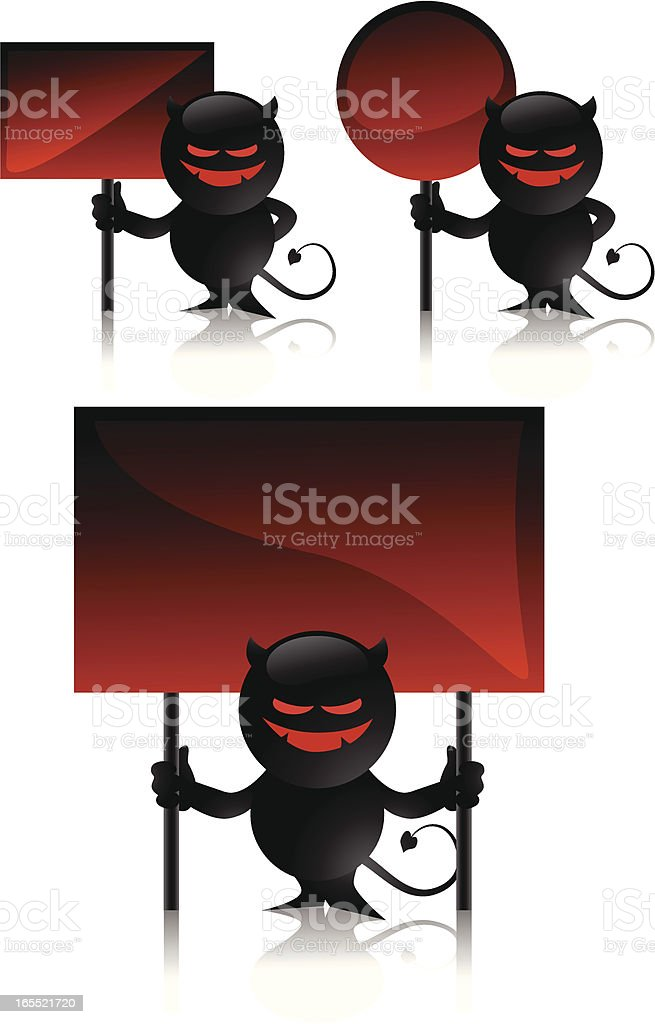 devil toy and signs royalty-free devil toy and signs stock vector art & more images of abstract