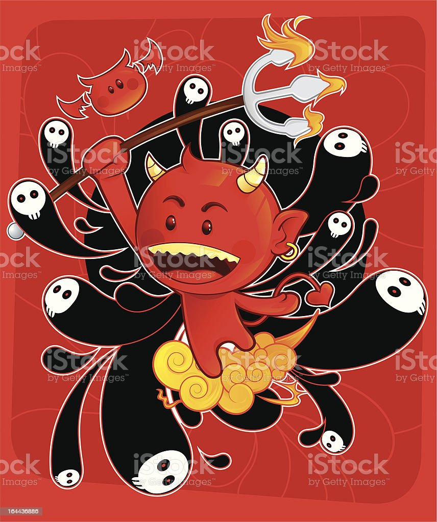 Devil's Son royalty-free devils son stock vector art & more images of activity