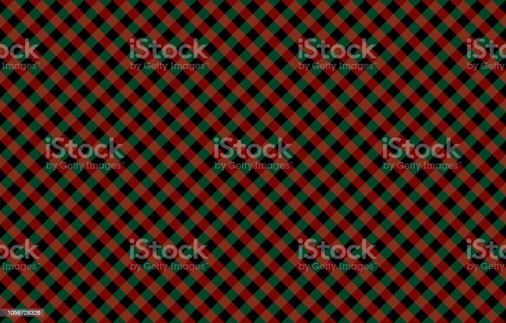 Diagonal moña-como patrón con controles rojos y verdes - ilustración de arte vectorial