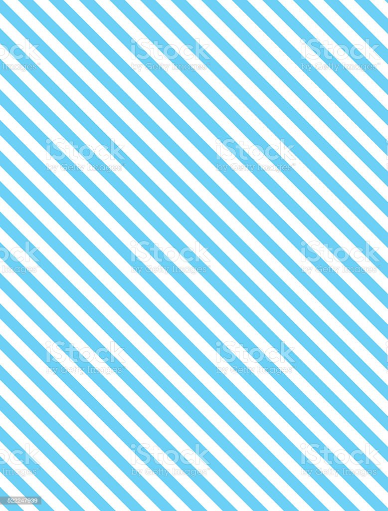Diagonal Striped Background in Blue vector art illustration
