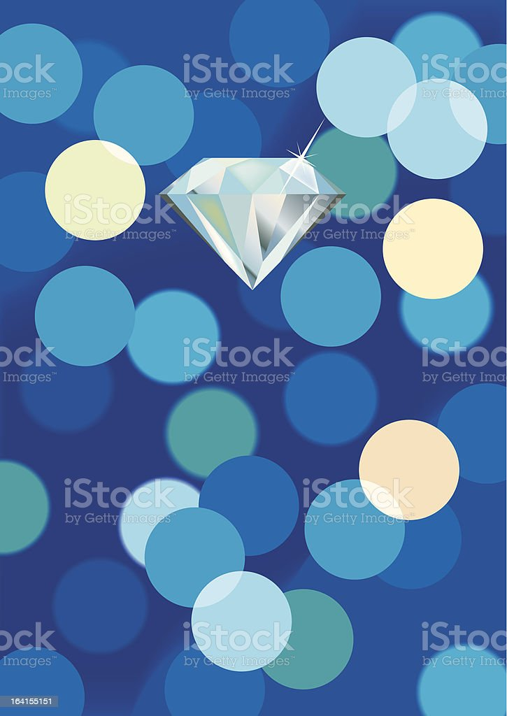 diamond on lights background royalty-free diamond on lights background stock vector art & more images of backgrounds