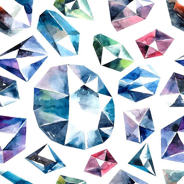 Diamantes patrón perfecto. - ilustración de arte vectorial