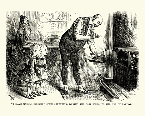 Dickens David Copperfield To The Art Of Baking - Arte vetorial de stock e mais imagens de 1870-1879