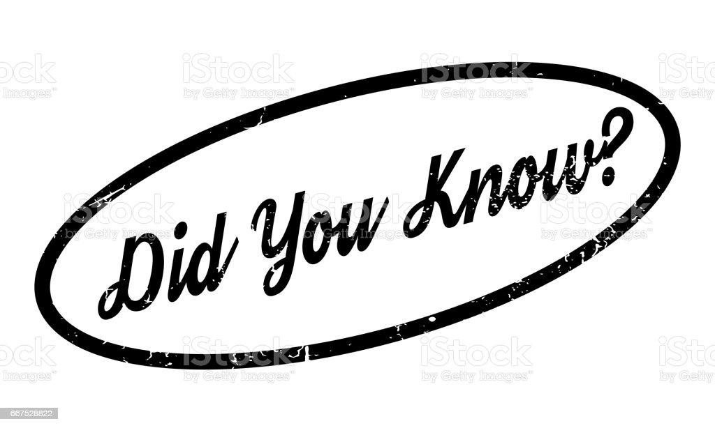 Did You Know rubber stamp did you know rubber stamp - immagini vettoriali stock e altre immagini di colloquio royalty-free