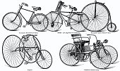 istock Different styles of bicycles 1301909504