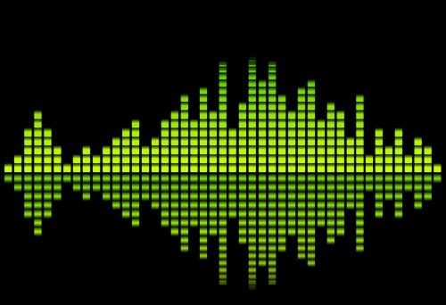 Digital equalizer - green tone