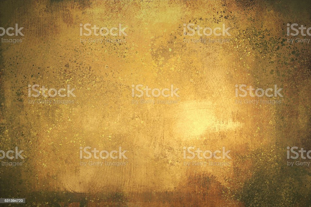 digital painting of gold texture background vector art illustration